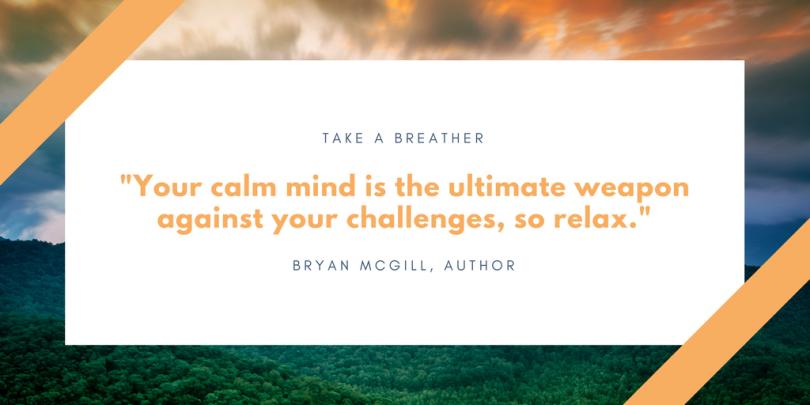 Calm Mind quote